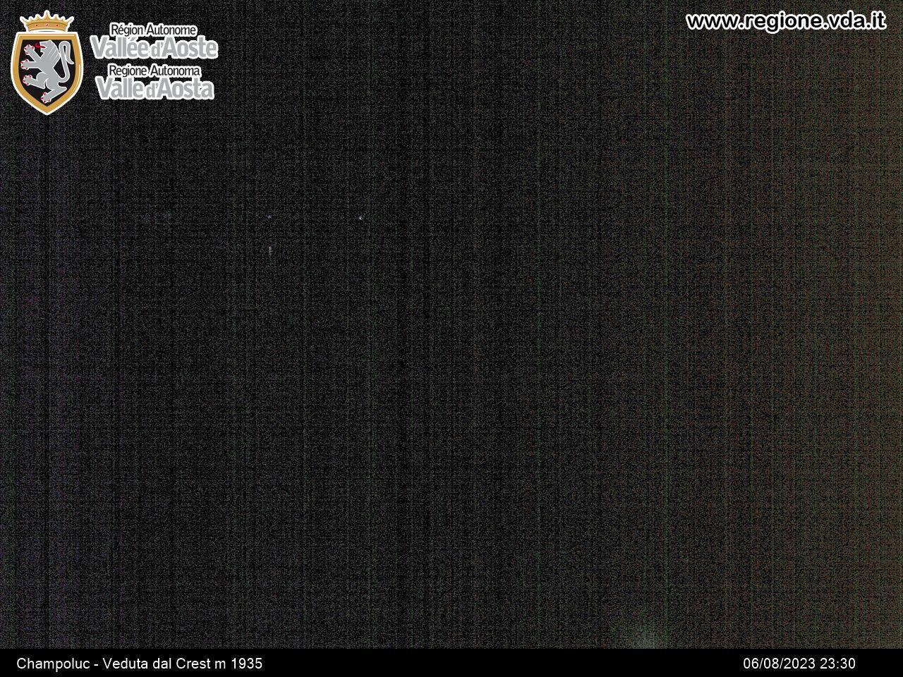 Monterosa-ski Ayas Champoluc - Veduta dal Crest