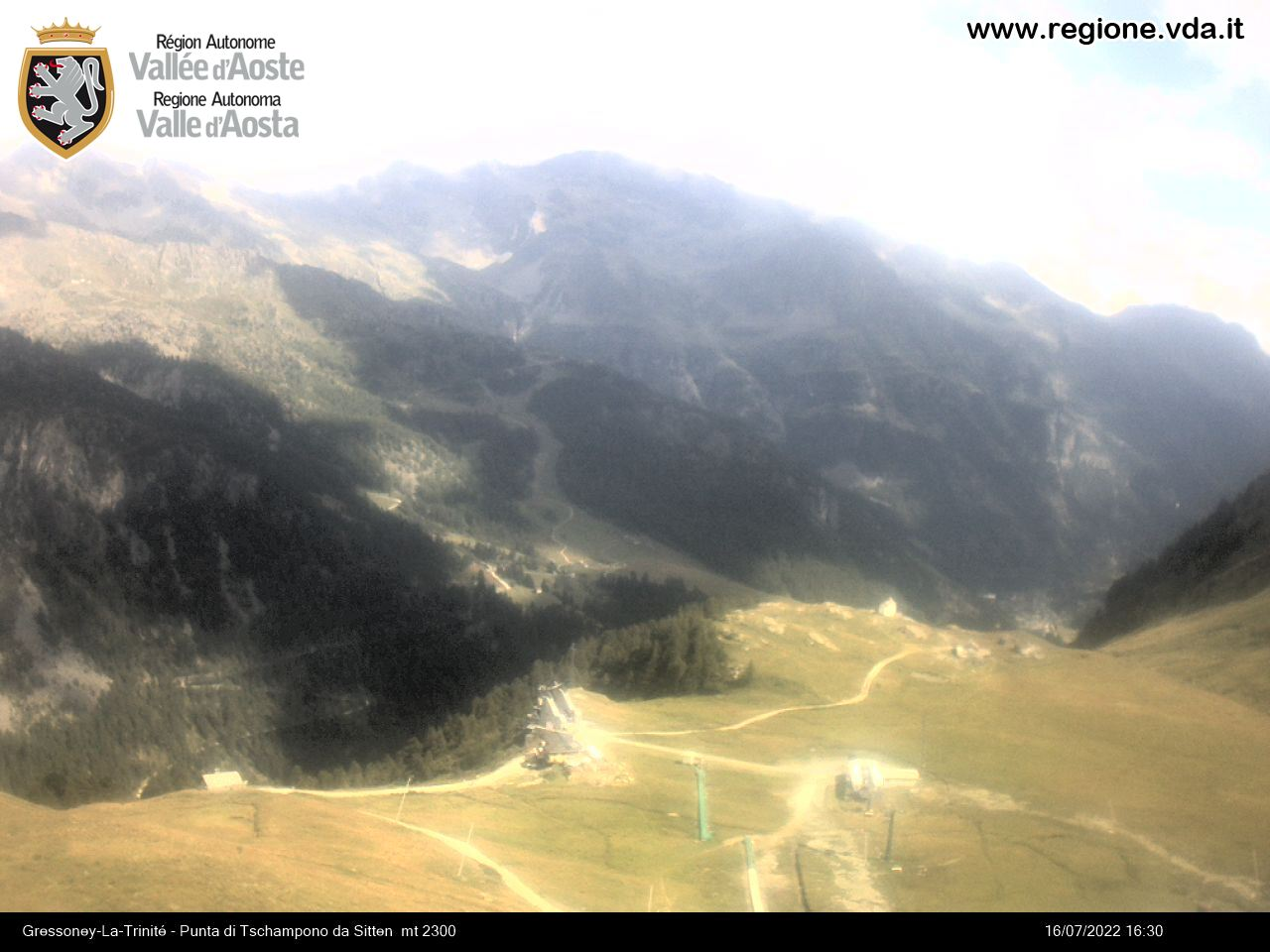 Monterosa-ski Gressoney La Trinité - Loc. Sitten