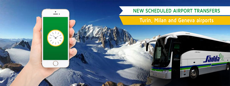 Airport transfer to Cervinia skiing station from Geneva Milan Turin