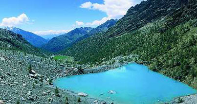 Blue Lake of Verra