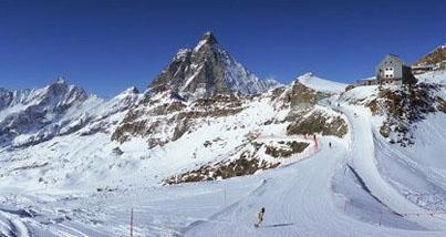 Sciare a Breuil-Cervinia