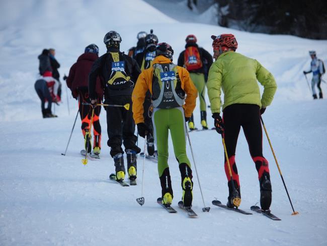 """Monterosa Ski Alp"": gara di sci alpinismo in notturna thumbnail"