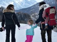 Spécial famille sur la neige