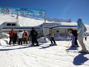 La Thuile, Skifahren ohne Grenzen