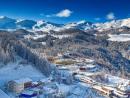 Weihnachten auf Skiern