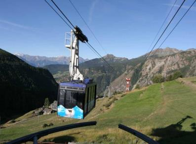 Buisson - Chamois cable car