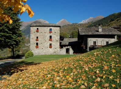 Maison Gerbollier in autunno