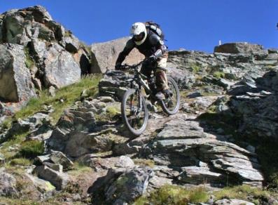 Downhill Breuil-Cervinia