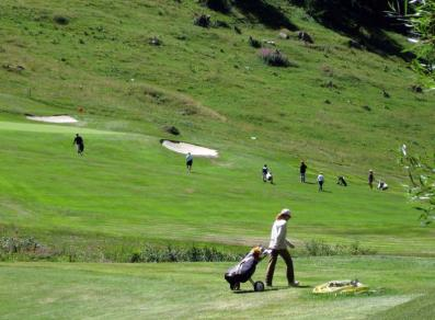 Golf in Val Ferret