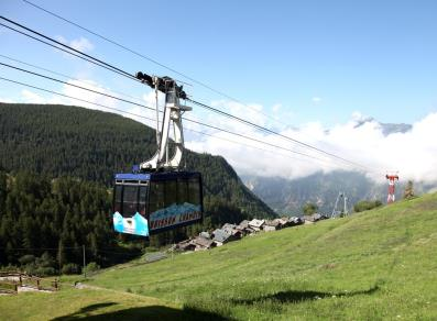 Cable car Buisson-Chamois
