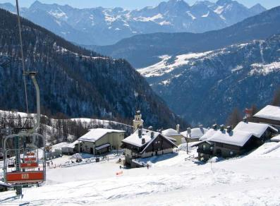 Chamois ski resort