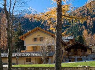 Cartina Della Valle D Aosta Da Stampare.Passeggiata Da Courmayeur A Dolonne Valle D Aosta