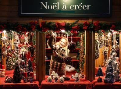 Mercatino Di Natale Marché Vert Noël Valle Daosta