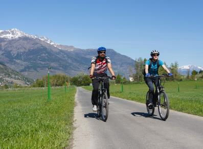 e-bike in Valle d'Aosta