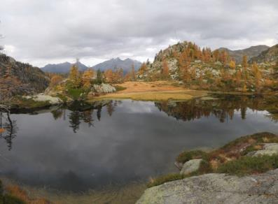 Lago Lei Long - autunno