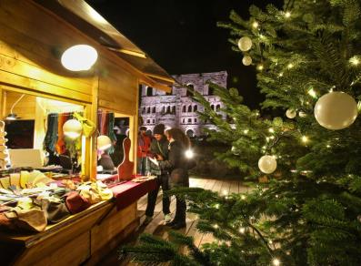 Christmas Market at Aosta