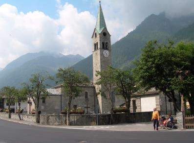 Gressoney-Saint-Jean - Church of San Giovanni Battista