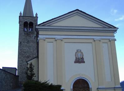 Church of Sant'Ilario - Nus