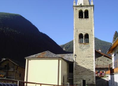 Sant'Eugendo Church - Saint-Oyen